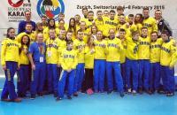 """77. Zurich, Switzerland, 06-08.03.2015, """"EKF European Karate Championships Juniors & Cadets"""", karate"""